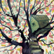 La voz del árbol. A Illustration project by Adolfo Serra - 05.12.2017