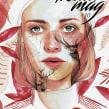 Portada Revista digital (Kluid Magazine). A Design, Illustration, and Fine Art project by Ana Santos - 08.25.2017