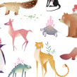 Animales. A Illustration project by Mercedes deBellard - 09.03.2017