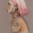 Trabajo personal; Mi dama valiente. Un proyecto de Ilustración de Elena Pancorbo - 13.02.2017
