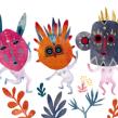 Niños salvajes. Un proyecto de Ilustración y Diseño de personajes de Adolfo Serra - 05.10.2017