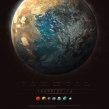 TRAPPIST - 1. Um projeto de Ilustração de Guillem H. Pongiluppi - 01.06.2017