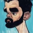 Retrato. Un progetto di Character Design , e Belle arti di Iker J. de los Mozos - 01.12.2017
