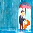 Te quiero mucho papá/mamá. Un proyecto de Ilustración de Sole Otero - 04.12.2016