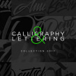Lettering & Caligrafía 2017. A Design, Kalligrafie und Lettering project by Daniel Hosoya - 02.01.2018