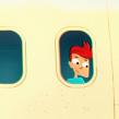 The Million App. Um projeto de Design, Ilustração, Publicidade, Motion Graphics, Cinema, Vídeo e TV, Animação, Direção de arte, Br, ing e Identidade, Design gráfico, Animação de personagens e Ilustração vetorial de David Duprez - 18.01.2013