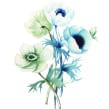 Flores botánica . Un projet de Illustration de Paulina Maciel · Canela - 25.01.2017