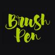 Carteles «Brush Pen Calligraphy Workshop». Un projet de Design , Design graphique, Calligraphie , et Conception d'affiche de Leire y Eduardo - 07.05.2018