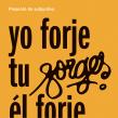 Cartel «Homenaje a Forges». Un projet de Design , Design graphique , et Conception d'affiche de Leire y Eduardo - 07.05.2018