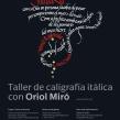 Carteles «Jornadas de Caligrafía en Arantzazu». Un projet de Design , Design graphique, Calligraphie , et Conception d'affiche de Leire y Eduardo - 07.05.2018