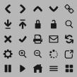 Diseño de iconos web EHU. Un projet de Design , Design graphique, Conception d'icônes , et Conception de pictogramme de Leire y Eduardo - 07.05.2018