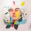 Mulafest 2017. Mural en vivo.. A Illustration und Malerei project by Beatriz Ramo (Naranjalidad) - 15.06.2018