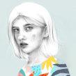 Ojos. Un progetto di Illustrazione e Illustrazione di ritratto di Beatriz Ramo (Naranjalidad) - 15.06.2018