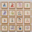 Nuevo proyectoHabitante: 70 small drawings. . Um projeto de Ilustração, Desenho e Pintura em aquarela de Violeta Hernández - 23.08.2018