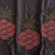 Pineapples. A Embroider, and Design project by Karen Barbé - 09.06.2018