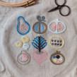 Fruits & Veggies Sampler. A Embroider, and Design project by Karen Barbé - 09.06.2018
