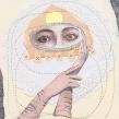 Mi Proyecto del curso: Técnicas de bordado experimental sobre papel. Un proyecto de Bellas Artes, Collage, Dibujo a lápiz, Dibujo, Bordado, Costura, Dibujo de Retrato y Dibujo artístico de Gimena Romero - 12.07.2018