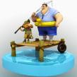 Small Fisherman Rig. Un proyecto de 3D y Animación 3D de Jose Antonio Martin Martin - 10.10.2018