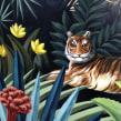 Selva Mural II. Un proyecto de Ilustración, Bellas Artes y Pintura de Lucila Dominguez - 16.10.2018