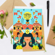 Dole Sunshine USA. A Illustration, Advertising, and Social Media project by Ely Ely Ilustra - 10.19.2018