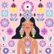 Ilustración con iconos. A Illustration und Icon-Design project by Ely Ely Ilustra - 19.10.2018