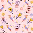 Patterns. A Pattern Design & Illustration project by Ely Ely Ilustra - 10.19.2018