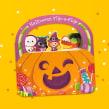 Halloween Flip-a-Flap. A Digital illustration, Drawing & Illustration project by Pamela Barbieri - 10.30.2018