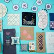 Kits Florula DIY. Um projeto de Bordado e Design de Elidé Rangel Soto - 12.11.2018