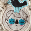 La muerte le sienta bien. Un proyecto de Ilustración, Artesanía y Bordado de Elidé Rangel Soto - 02.11.2014
