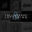 Lettering & Caligrafía 2018. Un progetto di Design, Calligrafia , e Lettering di Daniel Hosoya - 20.01.2019