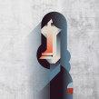 Mi Proyecto del curso: Retrato geométrico minimalista. A Illustration, Vector Illustration, and Portrait illustration project by Maria Picassó i Piquer - 01.22.2019