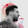Howler Magazine - What Messi Does for Me. Un projet de Design , Illustration , et Conception éditoriale de Israel García Vargas - 15.01.2019
