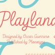 Playland. Un proyecto de Tipografía de Oscar Guerrero Cañizares - 19.02.2019