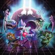Regular Show Grudgeball. Un projet de Illustration, Animation , et Jeux video de Nicolas Castro - 25.02.2019