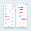 UI Design Collection 4. A UI / UX, Interactive Design, and Web Design project by Christian Vizcarra - 02.28.2019