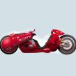 La moto de Kaneda. Akira.. A Illustration project by Óscar Lloréns - 03.18.2019