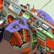 Stormy Drums Proceso.. Un proyecto de Ilustración e Ilustración digital de Smithe - 06.03.2019