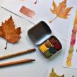 Mi Proyecto del curso: Acuarelas Artesanales. Un proyecto de Ilustración, Artesanía, Bellas Artes, Pintura, Creatividad, Pintura a la acuarela y Dibujo artístico de Scriptorium Yayyan - 20.11.2018