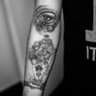 Tattoo Hecha en 2016/2017 . A Illustration, Creativit, and Drawing project by Tania Maia - 04.12.2019