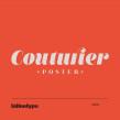 Couturier Poster. Um projeto de Tipografia de Latinotype - 12.04.2019