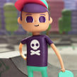 Dancing Shoop. Un projet de Cinéma, vidéo et télévision, 3D, Animation, Character Design, Animation de personnage, Animation 3D , et Conception de personnages 3D de Ruben F Stremiz - 01.05.2019
