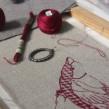 Sampler de pájaro. Un proyecto de Bellas Artes y Bordado de Gimena Romero - 07.05.2019