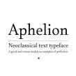 Aphelion. Un proyecto de Tipografía de Oscar Guerrero Cañizares - 13.05.2019