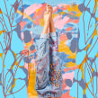 Pantalones bordados. Un proyecto de Bordado y Creatividad de Trini Guzmán (holaleon) - 07.06.2019