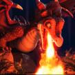 Dragón y Goblin - Ubisoft Cinemática 2. Un proyecto de 3D, Escultura, Modelado 3D, Videojuegos y Diseño de personajes 3D de Miguel Miranda - 17.07.2018