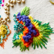 Obra en Colores. Un projet de Beaux Arts, Créativité , et Broderie de Josefina Allendes - 03.07.2019