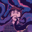 Ilustracion para campaña de Stranger Things. Un projet de Illustration de German Gonzalez Ramirez - 07.07.2019
