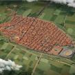 Pompeya antes de la erupción. Un proyecto de 3D, Infografía e Ilustración digital de Román García Mora - 15.02.2019