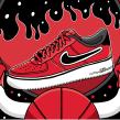 Ilustraciones para Nike #AFI NBA. Un proyecto de Ilustración de Andonella - 16.07.2019