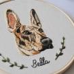 Retrato de Bella . Un projet de Broderie de Valentina Castillo - 17.07.2019